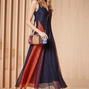 Tory Burch NWT Lace Midi Dress - Size 4